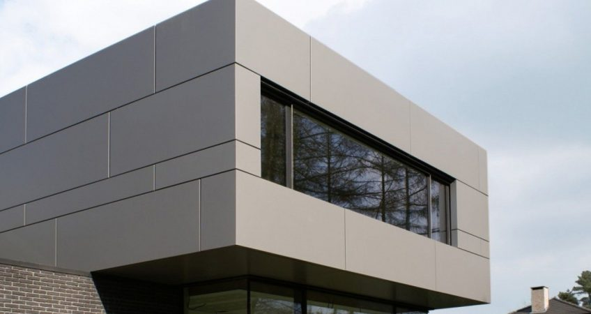 Habillage facade panneau composite prix