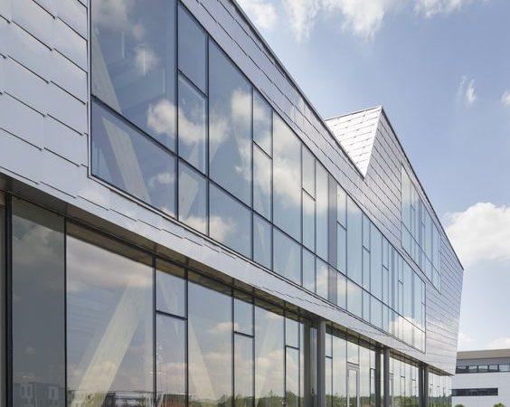 Habillage façade en aluminium (Alucobond)