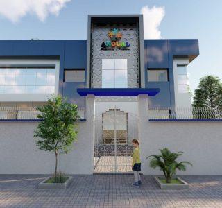 Habillage façade Rabat