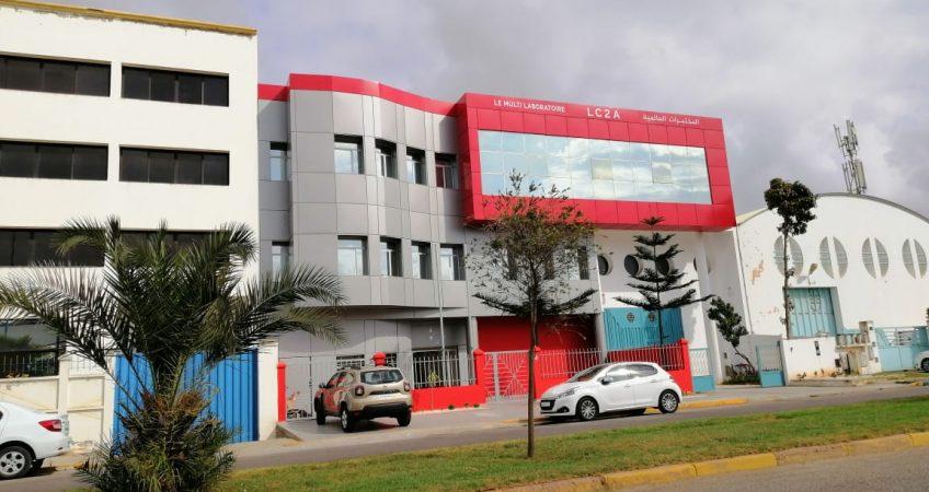 Habillage façade Agadir