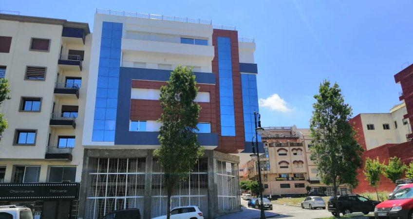 Habillage façade Safi
