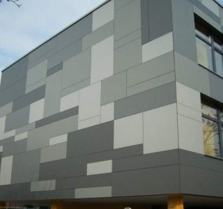 Habillage façade Chefchaoun