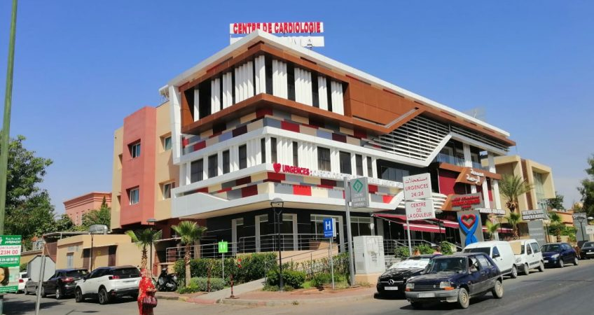 Habillage façade Oujda