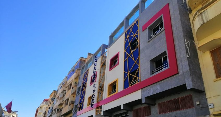 Habillage façade bâtiment
