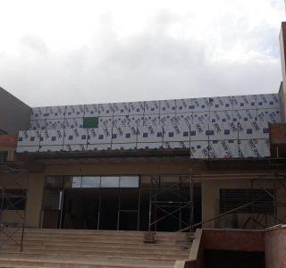 Habillage façade Mohammedia