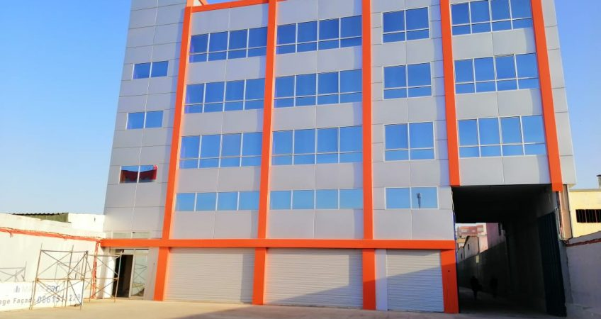 Habillage façade Témara