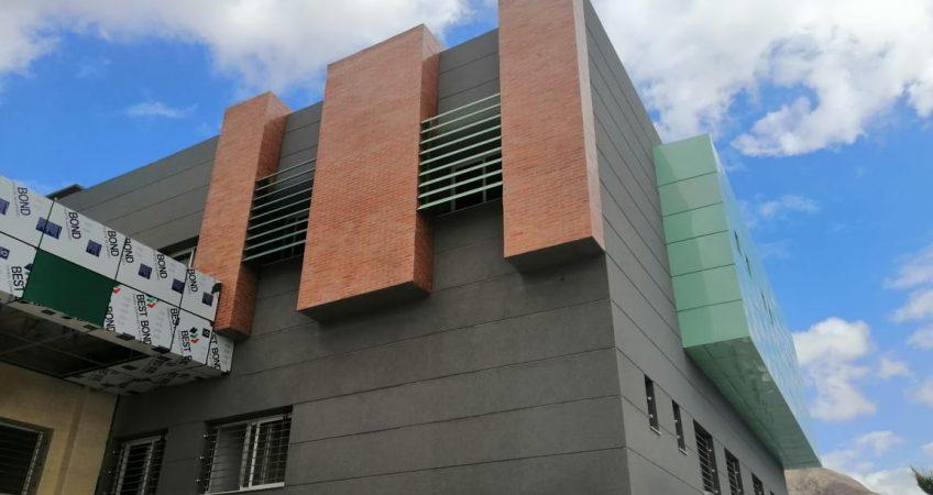 Habillage façade en aluminiumond