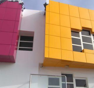 Habillage façade Fès