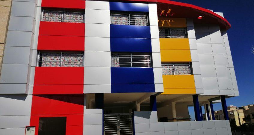 Habillage façade Maroc