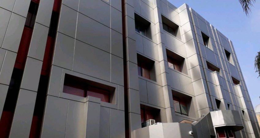 Habillage façade Tanger