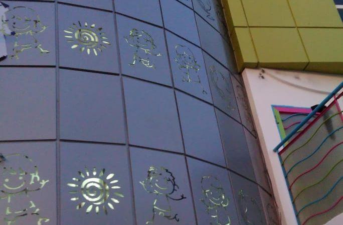 Habillage façade Taza